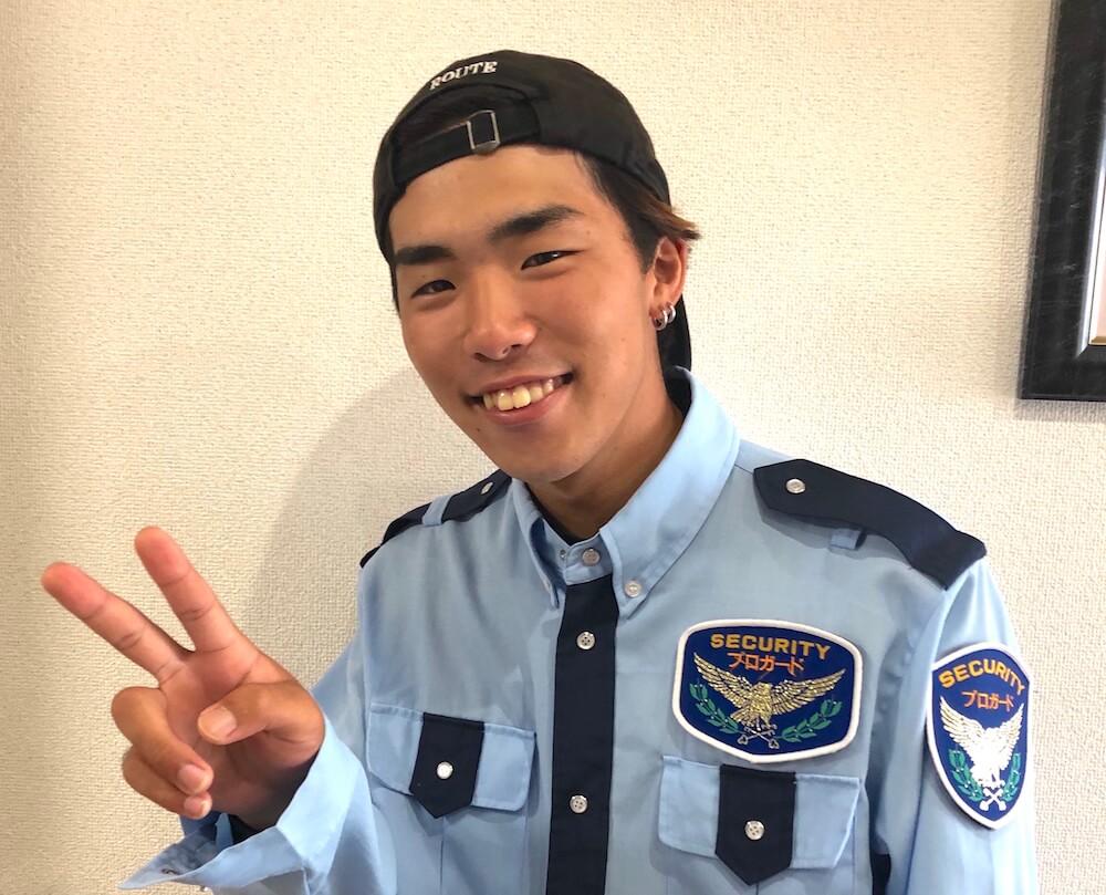 交通誘導警備業務2級に合格したKさん